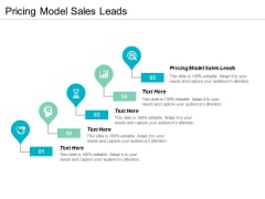 Pricing Model Sales Leads Ppt PowerPoint Presentation Gallery Portfolio Cpb