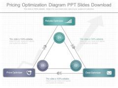 Pricing Optimization Diagram Ppt Slides Download