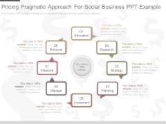 Pricing Pragmatic Approach For Social Business Ppt Example