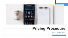 Pricing Procedure Revenue Optimization Ppt PowerPoint Presentation Complete Deck With Slides