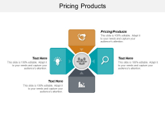Pricing Products Ppt PowerPoint Presentation Inspiration Design Inspiration Cpb