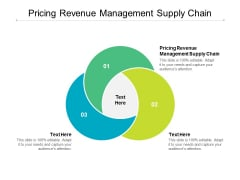 Pricing Revenue Management Supply Chain Ppt PowerPoint Presentation Infographics Templates Cpb
