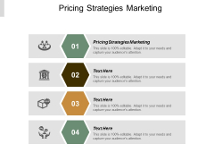 Pricing Strategies Marketing Ppt Powerpoint Presentation Styles Inspiration Cpb