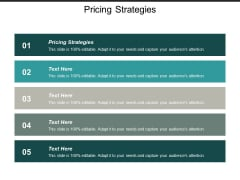 Pricing Strategies Ppt PowerPoint Presentation Gallery Background Images