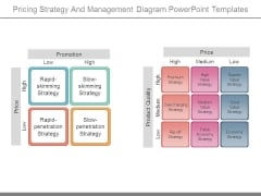 Pricing Strategy And Management Diagram Powerpoint Templates