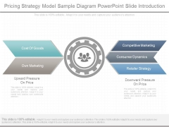 Pricing Strategy Model Sample Diagram Powerpoint Slide Introduction