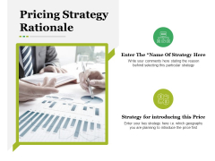 Pricing Strategy Rationale Ppt PowerPoint Presentation Inspiration Elements