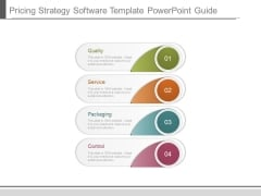 Pricing Strategy Software Template Powerpoint Guide