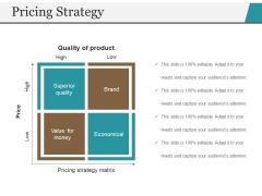 Pricing Strategy Template 1 Ppt PowerPoint Presentation Icon Background Image