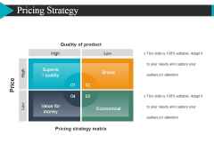 Pricing Strategy Template 2 Ppt PowerPoint Presentation Layouts Graphics