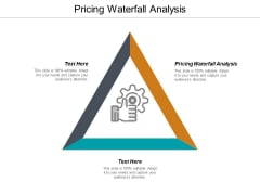 Pricing Waterfall Analysis Ppt PowerPoint Presentation Inspiration Deck Cpb
