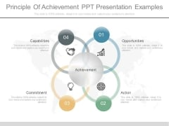 Principle Of Achievement Ppt Presentation Examples