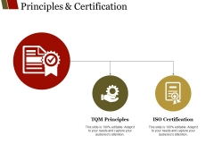 Principles And Certification Ppt PowerPoint Presentation File Samples