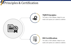Principles And Certification Ppt PowerPoint Presentation Model Picture