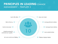Principles In Leading Change Management Engage Ppt PowerPoint Presentation Summary Infographics