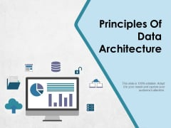 Principles Of Data Architecture Ppt PowerPoint Presentation Outline Templates