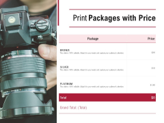 Print Packages With Price Technology Ppt PowerPoint Presentation Visuals