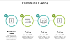 Prioritization Funding Ppt PowerPoint Presentation Gallery Show Cpb