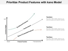 Prioritize Product Features With Kano Model Ppt Powerpoint Presentation Professional Infographic Template