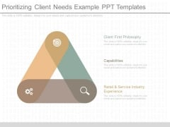 Prioritizing Client Needs Example Ppt Templates