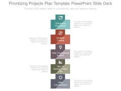 Prioritizing Projects Plan Template Powerpoint Slide Deck