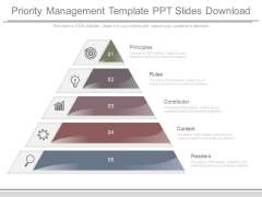 Priority Management Template Ppt Slides Download