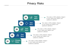 Privacy Risks Ppt PowerPoint Presentation Topics Cpb Pdf