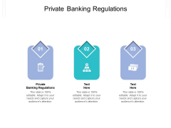Private Banking Regulations Ppt PowerPoint Presentation Inspiration Themes Cpb Pdf
