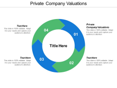 Private Company Valuations Ppt Powerpoint Presentation Icon Introduction Cpb