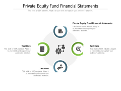 Private Equity Fund Financial Statements Ppt PowerPoint Presentation Gallery Slide Cpb Pdf