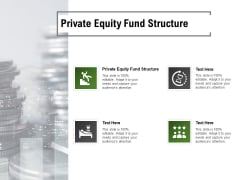 Private Equity Fund Structure Ppt PowerPoint Presentation Shapes Cpb Pdf