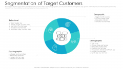 Private Equity Fundraising Pitch Deck Segmentation Of Target Customers Ppt Clipart PDF