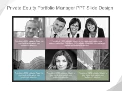 Private Equity Portfolio Manager Ppt PowerPoint Presentation Slides
