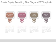 Private Equity Recruiting Tips Diagram Ppt Inspiration