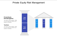 Private Equity Risk Management Ppt PowerPoint Presentation Show Graphics Template Cpb