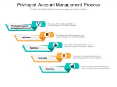 Privileged Account Management Process Ppt PowerPoint Presentation Show Topics Cpb Pdf