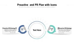 Proactive And PR Plan With Icons Ppt PowerPoint Presentation Slides Deck