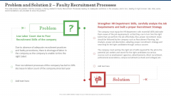 Problem And Solution 2 Faulty Recruitment Processes Background PDF