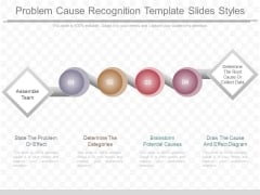 Problem Cause Recognition Template Slides Styles