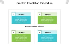 Problem Escalation Procedure Ppt PowerPoint Presentation Layouts Example Cpb Pdf