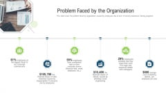 Problem Faced By The Organization Ppt Styles Layouts PDF