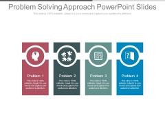 Problem Solving Approach Powerpoint Slides
