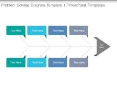Problem Solving Diagram Template 1 Powerpoint Templates
