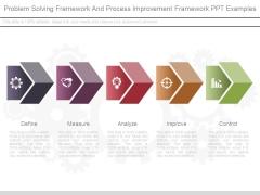 Problem Solving Framework And Process Improvement Framework Ppt Examples