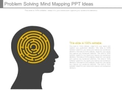 Problem Solving Mind Mapping Ppt Ideas
