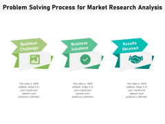 Problem Solving Process For Market Research Analysis Ppt PowerPoint Presentation File Background Images PDF