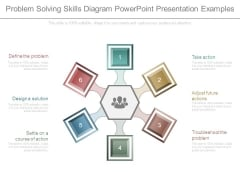 Problem Solving Skills Diagram Powerpoint Presentation Examples
