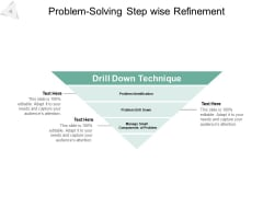 Problem Solving Step Wise Refinement Ppt PowerPoint Presentation Outline Background Image