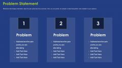 Problem Statement Ppt Styles Model PDF