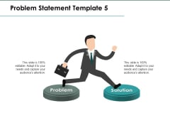 Problem Statement Problem Solution Ppt PowerPoint Presentation Visual Aids Gallery